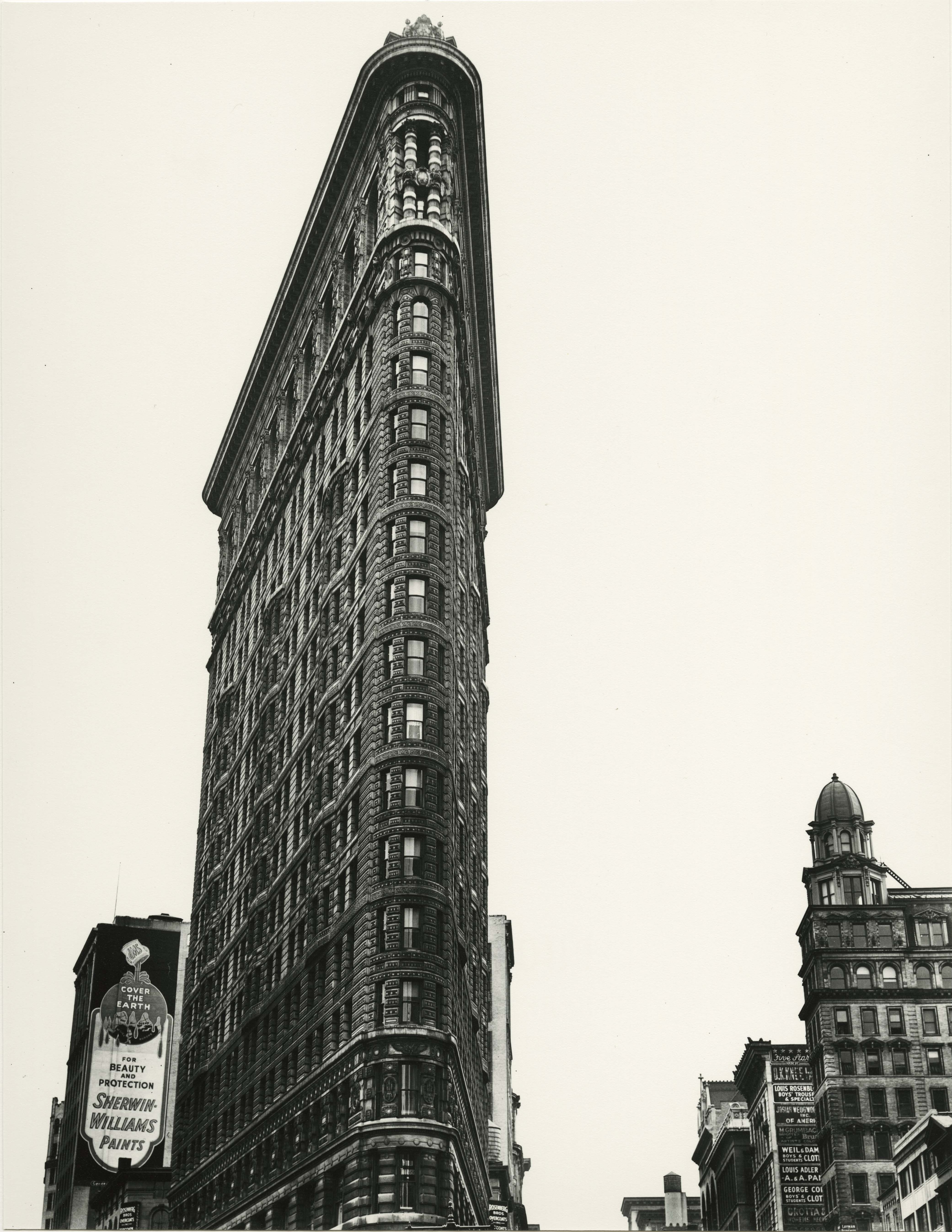 Flatiron Building. Madison Square. New York. 1938
