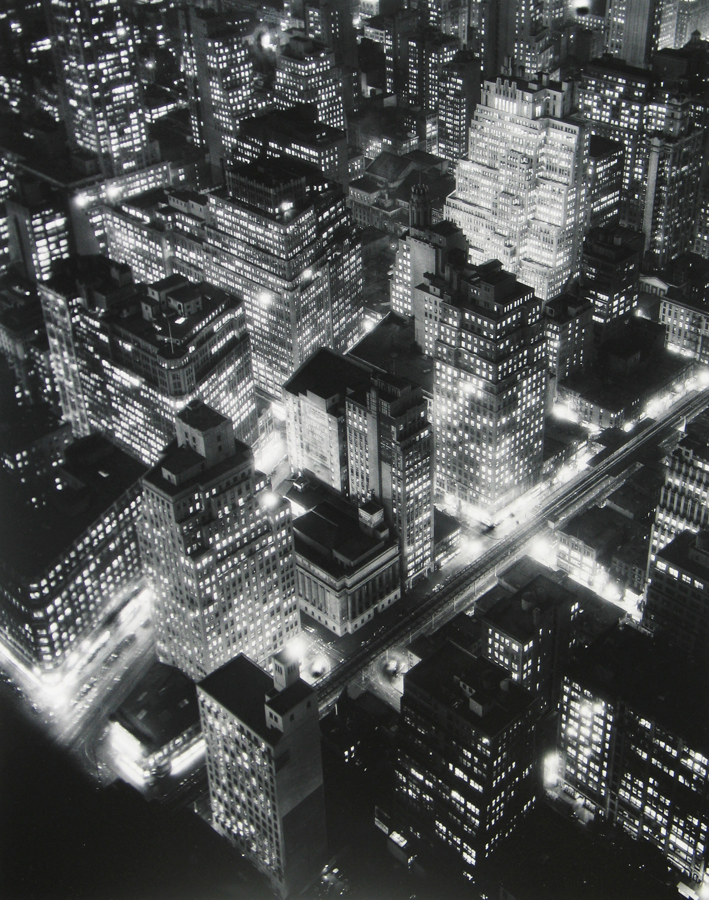 Nightview. New York. 1932